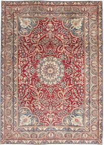Kerman Patina Rug 248X344 Authentic Oriental Handknotted Beige/Light Grey (Wool, Persia/Iran)
