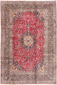 Kashmar Rug 198X293 Authentic  Oriental Handknotted Dark Red/Beige (Wool, Persia/Iran)