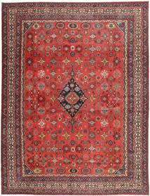 Hamadan Shahrbaf Patina Rug 313X413 Authentic  Oriental Handknotted Dark Red/Rust Red Large (Wool, Persia/Iran)