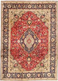 Tabriz Rug 246X338 Authentic  Oriental Handknotted Dark Red/Dark Brown (Wool, Persia/Iran)
