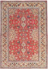 Tabriz Patina Rug 229X325 Authentic  Oriental Handknotted Dark Red/Beige (Wool, Persia/Iran)