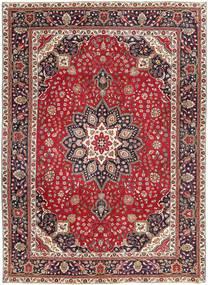 Tabriz Patina Rug 250X344 Authentic  Oriental Handknotted Dark Red/Dark Brown Large (Wool, Persia/Iran)