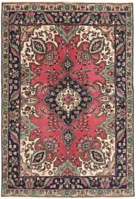Tabriz Patina Rug 142X204 Authentic Oriental Handknotted Dark Brown/Dark Red (Wool, Persia/Iran)