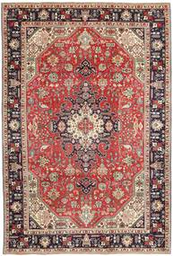 Tabriz Patina Rug 200X300 Authentic  Oriental Handknotted Dark Red/Dark Brown (Wool, Persia/Iran)
