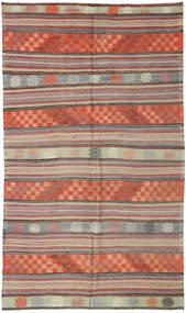 Kilim Turkish Rug 171X295 Authentic  Oriental Handwoven Dark Red/Light Grey (Wool, Turkey)