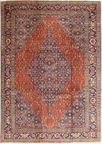 Tabriz Rug 237X345 Authentic  Oriental Handknotted Dark Red/Light Brown (Wool, Persia/Iran)
