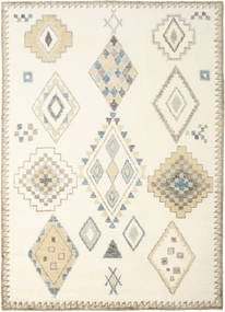 Berber Indo - Off White/Beige Rug 240X340 Authentic  Modern Handknotted Beige/White/Creme (Wool, India)