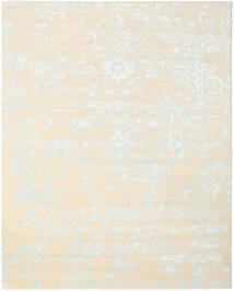 Orient Express - White/Blue Rug 240X300 Authentic  Modern Handknotted Beige/White/Creme (Wool/Bamboo Silk, India)