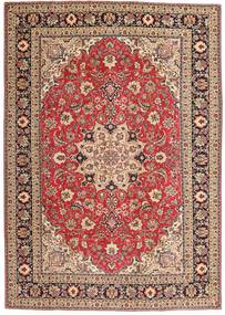 Tabriz Patina Rug 200X287 Authentic  Oriental Handknotted Dark Red/Dark Brown (Wool, Persia/Iran)