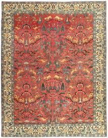 Tabriz Patina Rug 248X318 Authentic Oriental Handknotted Dark Red/Rust Red (Wool, Persia/Iran)