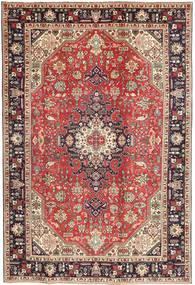 Tabriz Patina Rug 200X298 Authentic  Oriental Handknotted Brown/Dark Brown (Wool, Persia/Iran)
