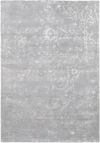Orient Express - Grey Rug 160X230 Authentic  Modern Handknotted Light Grey (Wool/Bamboo Silk, India)