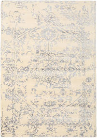 Orient Express - White/Grey Rug 160X230 Authentic Modern Handknotted Beige/Light Grey (Wool/Bamboo Silk, India)