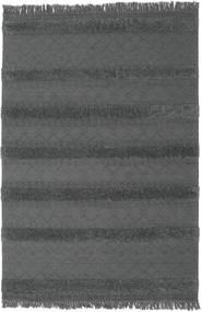 Kilim Berber Ibiza - Soft Grey Rug 200X300 Authentic  Modern Handwoven Black/Dark Grey (Wool, India)