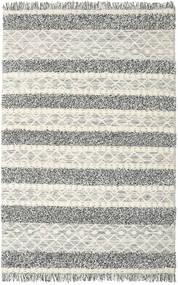 Kilim Berber Ibiza - Black And White Mix Rug 200X300 Authentic  Modern Handwoven Light Grey/Dark Grey/Dark Beige (Wool, India)