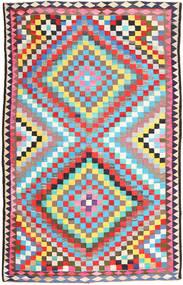 Kilim Fars Rug 190X305 Authentic  Oriental Handwoven (Wool, Persia/Iran)