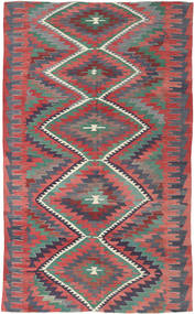Kilim Turkish Rug 192X298 Authentic  Oriental Handwoven Dark Grey/Rust Red (Wool, Turkey)