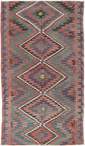 Kilim Turkish Rug 177X305 Authentic  Oriental Handwoven Dark Grey/Light Grey (Wool, Turkey)