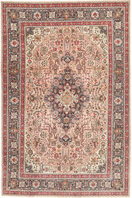 Tabriz Patina Rug 198X294 Authentic  Oriental Handknotted Brown/Light Brown (Wool, Persia/Iran)