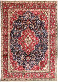 Tabriz Rug 248X343 Authentic  Oriental Handknotted Dark Red/Beige (Wool, Persia/Iran)