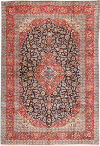 Keshan Rug 295X432 Authentic  Oriental Handknotted Light Brown/Rust Red Large (Wool, Persia/Iran)
