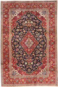 Keshan Rug 197X300 Authentic  Oriental Handknotted Dark Red/Dark Grey (Wool, Persia/Iran)