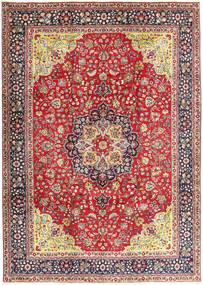Tabriz Rug 250X345 Authentic  Oriental Handknotted Rust Red/Dark Grey Large (Wool, Persia/Iran)