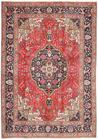 Tabriz Rug 200X290 Authentic  Oriental Handknotted Light Brown/Dark Red (Wool, Persia/Iran)