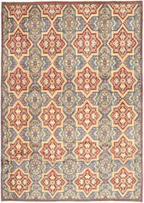 Kerman Rug 264X369 Authentic  Oriental Handknotted Beige/Dark Beige Large (Wool, Persia/Iran)