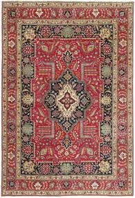 Tabriz Patina Rug 235X342 Authentic  Oriental Handknotted Dark Red/Crimson Red (Wool, Persia/Iran)