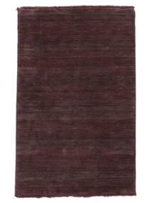 Handloom Fringes - Deep Wine Rug 160X230 Modern Dark Purple/Dark Brown (Wool, India)
