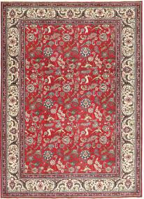 Tabriz Patina Rug 248X344 Authentic  Oriental Handknotted Dark Red/Beige (Wool, Persia/Iran)