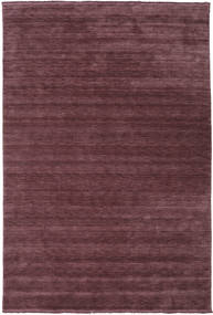 Handloom Fringes - Deep Wine Rug 300X400 Modern Dark Purple/Dark Brown Large (Wool, India)