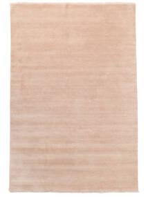 Handloom Fringes - Soft Rose Rug 200X300 Modern Light Pink/Beige (Wool, India)