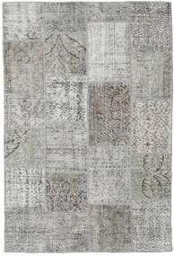 Patchwork Rug 156X234 Authentic  Modern Handknotted Light Grey/Dark Grey (Wool, Turkey)