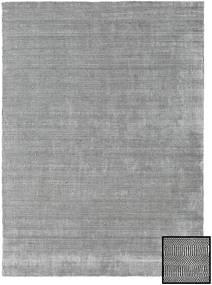 Bamboo Grass - Black_ Grey Rug 210X290 Modern Light Grey (Wool/Bamboo Silk, Turkey)
