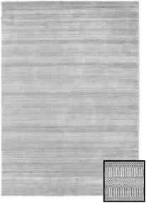 Bamboo Grass - Grey Rug 160X230 Modern Light Grey (Wool/Bamboo Silk, Turkey)