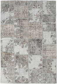 Patchwork Rug 157X234 Authentic  Modern Handknotted Light Grey (Wool, Turkey)