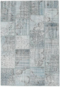 Patchwork Rug 160X230 Authentic  Modern Handknotted Light Grey (Wool, Turkey)