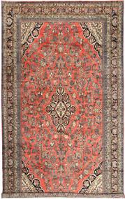 Hamadan Rug 313X532 Authentic  Oriental Handknotted Dark Red/Light Brown Large (Wool, Persia/Iran)