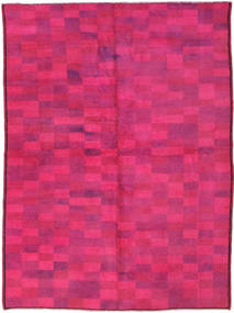 Colored Vintage Rug 140X192 Authentic  Modern Handknotted Pink (Wool, Turkey)