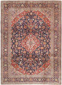 Keshas Signed: Aryai Rug 274X368 Authentic  Oriental Handknotted Dark Red/Black Large (Wool, Persia/Iran)