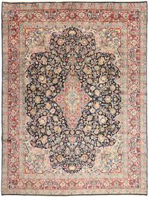 Kerman Rug 277X368 Authentic  Oriental Handknotted Beige/Dark Grey Large (Wool, Persia/Iran)