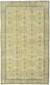 Colored Vintage Rug 176X302 Authentic  Modern Handknotted Light Green/Dark Beige (Wool, Turkey)