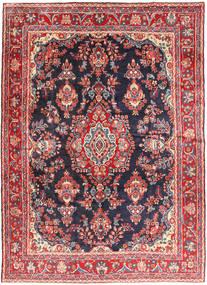 Hamadan Shahrbaf Rug 215X292 Authentic  Oriental Handknotted Rust Red/Dark Grey (Wool, Persia/Iran)