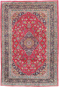 Kashmar Rug 197X300 Authentic  Oriental Handknotted Light Grey/Dark Brown (Wool, Persia/Iran)