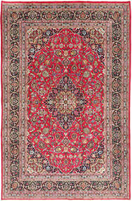 Kashmar Rug 197X300 Authentic  Oriental Handknotted Rust Red/Light Grey (Wool, Persia/Iran)