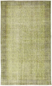 Colored Vintage Rug 166X278 Authentic  Modern Handknotted Light Green/Light Grey (Wool, Turkey)