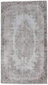 Colored Vintage Rug 116X210 Authentic  Modern Handknotted Light Grey/Dark Grey (Wool, Turkey)