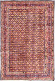Arak Rug 204X308 Authentic  Oriental Handknotted Dark Grey/Brown (Wool, Persia/Iran)
